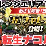 【五チャレンジ】転生ナコルルでチャレンジエリア1&3を攻略!【パズドラ実況】